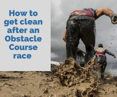 How To Get Clean After An Obstacle Course Race