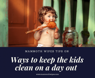 How To Keep Kids Clean On A Messy Day Out