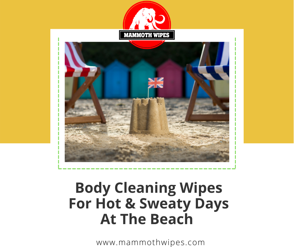 Body Cleansing Wipes For Hot And Sweaty Days At The Beach
